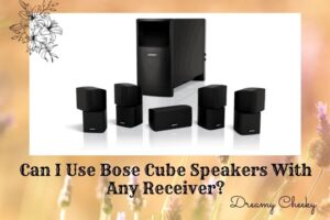 Can I Use Bose Cube Speakers With Any Receiver?